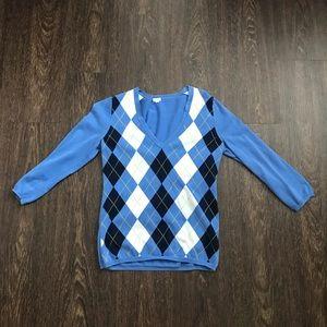 Jcrew quarter sleeve sweater